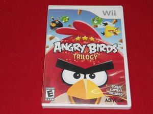 Longaniza games * wii / wii u angry birds trilogy ********