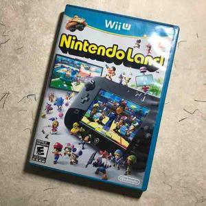 Nintendo land / nintendo wii u / entrega inmediata