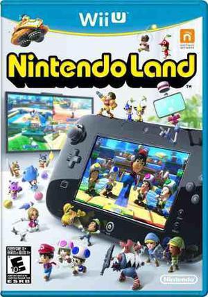 Nintendo land nintendo wii u nuevo sellado envío gratis
