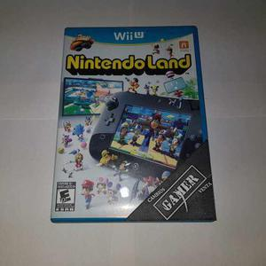 Nintendo land wii u cambios gamer (precio negociable)