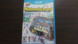Nintendo land wii u nuevo sellado