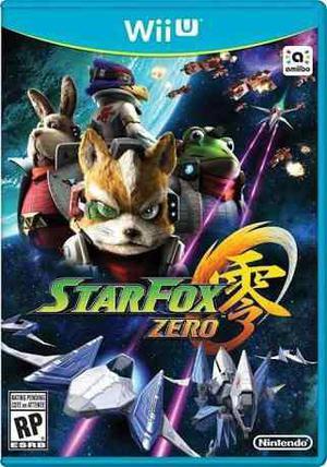 Star fox zero guard nuevo sellado wii u nintendo