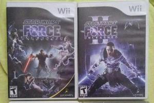 Star wars force unlashed 1 y 2 para wii, wii u
