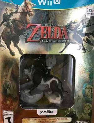 Zelda twilight princess + wolf link wii u nuevo
