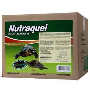 Alimento de tortuga nutraquel 1 alimento tortugas 6 kg