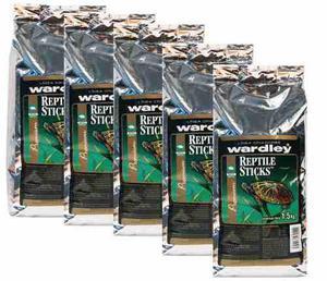 Alimento tortugas reptile sticks caja de 5 piezas de 1.5 kg