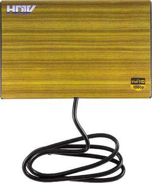 Antena hd digital interior para tv o decodificador