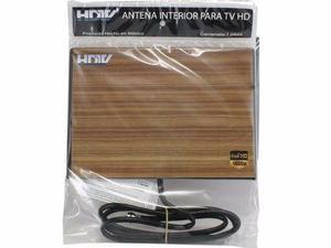 Antena hdtv ultra plana para interiores, fácil de instalar,