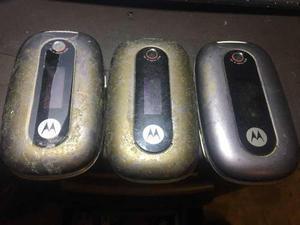 Lote celular motorola u3 para reparar o piezas
