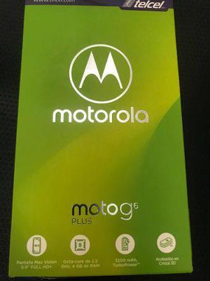 Motorola motog 6 plus, nuevo de 64 gb