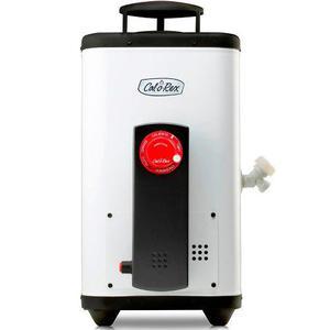 Calentador de paso calorex con detalle 6 l gas natu coxdp-06