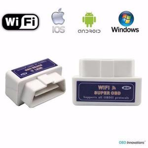 Escaner wifi automotriz obd2 obdii apple android iphone pro!