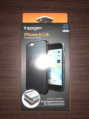d4ad8fc72ce Fundas protectora thin fit hybrid para iphone 6 y 6s