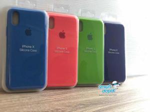 Fundas silicone case oficial apple