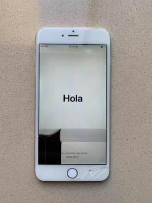 Iphone 6 plus 64gb pantalla rota no icloud