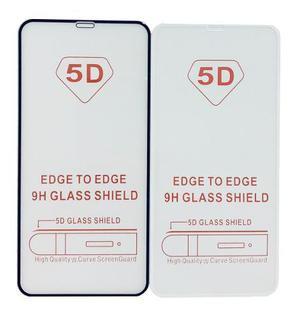 Mica cristal templado 5d iphone xs max a1921 a2101 02 04 xr