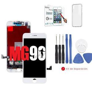 Pantalla display iphone 7 negro y blanco original + regalos