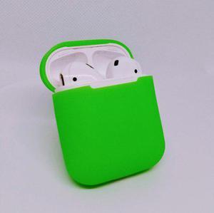 Protector funda case silicona para apple airpods 11 colores