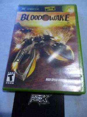 Blood wake para xbox clásico. by microsoft. game fenix