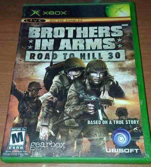 Brother in arms road to hill 33 xbox clasico