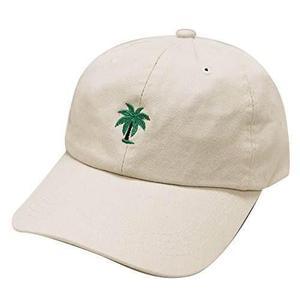 City hunter c104 palm tree gorra de béisbol de algodón de