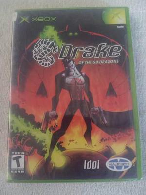 Drake of the 99 dragons xbox clasico juego nuevo y sellado