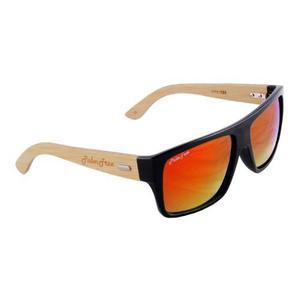 Gafas de sol lente palmtree sierra uv400 madera bamboo