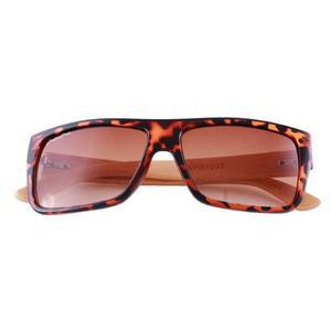 Lentes de sol gafas palmtree sierra uv400 madera bamboo