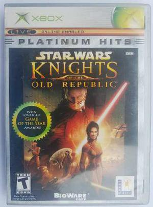 Star wars knights of the old republic xbox clásico