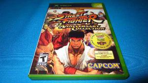 Street fighter anniversary xbox clasico / 360 *excelente*
