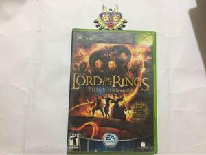 The Lord Of The Rings The Third Age Xbox Clásico (cement