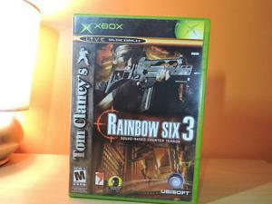 Tom clancy's rainbow six 3 para xbox clasico no one