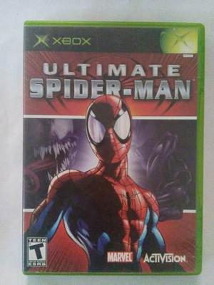 Ultimate spiderman xbox original trqs hombre araña spider