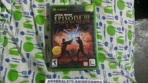Xbox star wars episodio 3 la revancha de los sith
