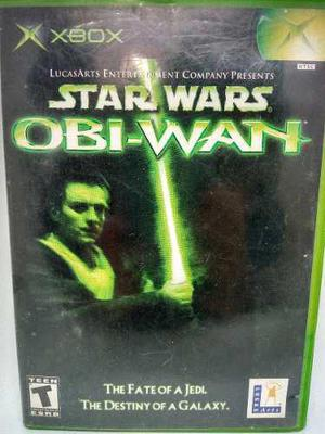 Xbox star wars obi-wan.