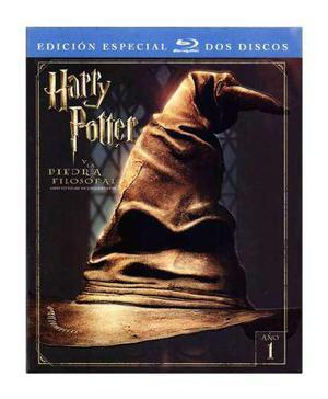 Harry potter 1 la piedra filosofal edicion especial blu-ray