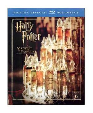 Harry potter misterio del principe edicion especial blu-ray