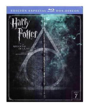 Harry potter reliquias de muerte parte 2 ed especial blu-ray