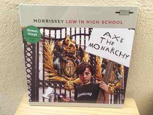 Morrissey - low in high school lp vinilo verde, nuevo