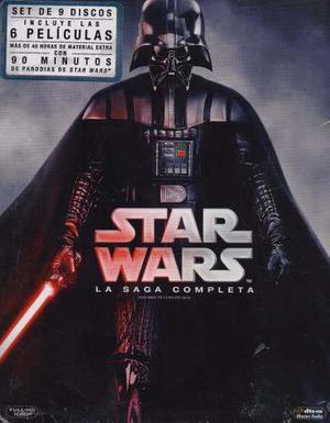 Star wars la saga completa boxset 1 - 6 peliculas blu-ray