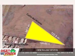 Terreno en venta en frac. rincón de las plazas / land for
