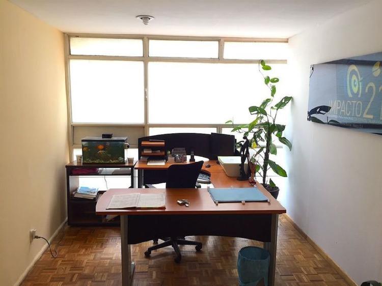 Oficina en renta en la colonia roma.