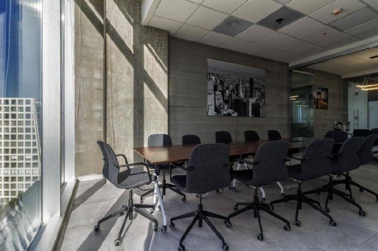 Sala de juntas hasta para 25 personas en renta desde $650 en