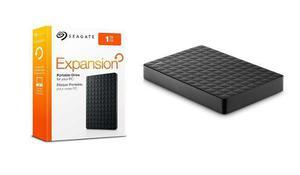 Disco duro externo seagate 1tb expansion 2.5 negro usb3.0