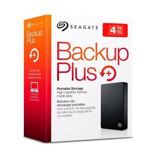 Disco duro externo seagate 4tb backup slim negro 2.5 usb 3.0