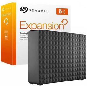 Disco duro externo seagate backup expansion 3.5'', 8tb,