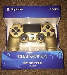 Dualshock 4 (gold)(sony) (3.5 ver.) ps4