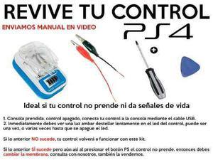 Kit revivir control muerto de ps4 (no prende) + herramientas