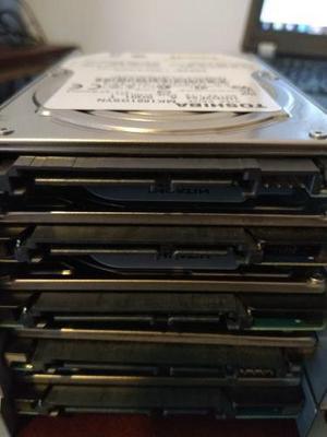 Lote de 20 piezas discos duros 160gb hitachi toshiba