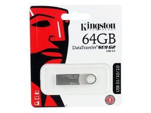 Memoria flash kingston 64gb, nueva generación de usb 3.0